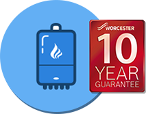 New boilers 10 years guarantee