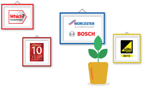 Worcester Bosch Boilers 10 Year  Guarantee