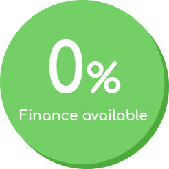 Zero percent finance for new boiler